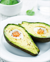 Keto Eggs Baked in Avocado