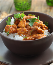 Instant Pot Butter Chicken with Cauliflower Rice