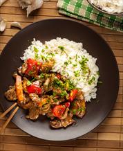 Pepper Steak with Cauli Rice