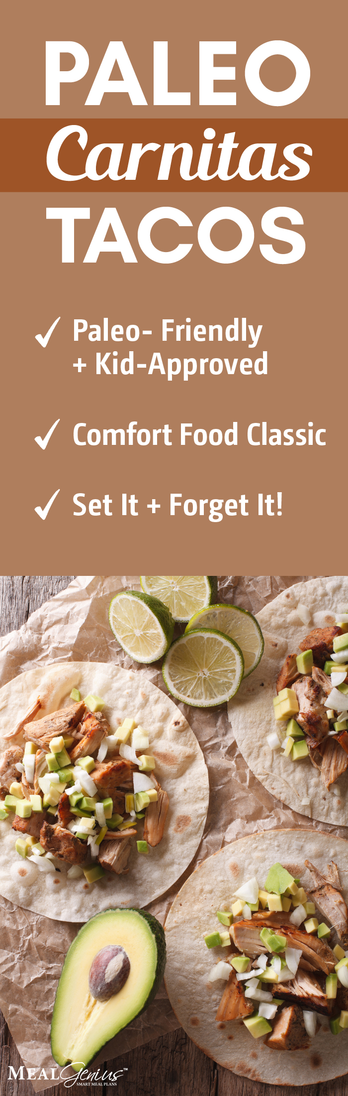 Instant Pot Paleo Carnitas - Meal Genius