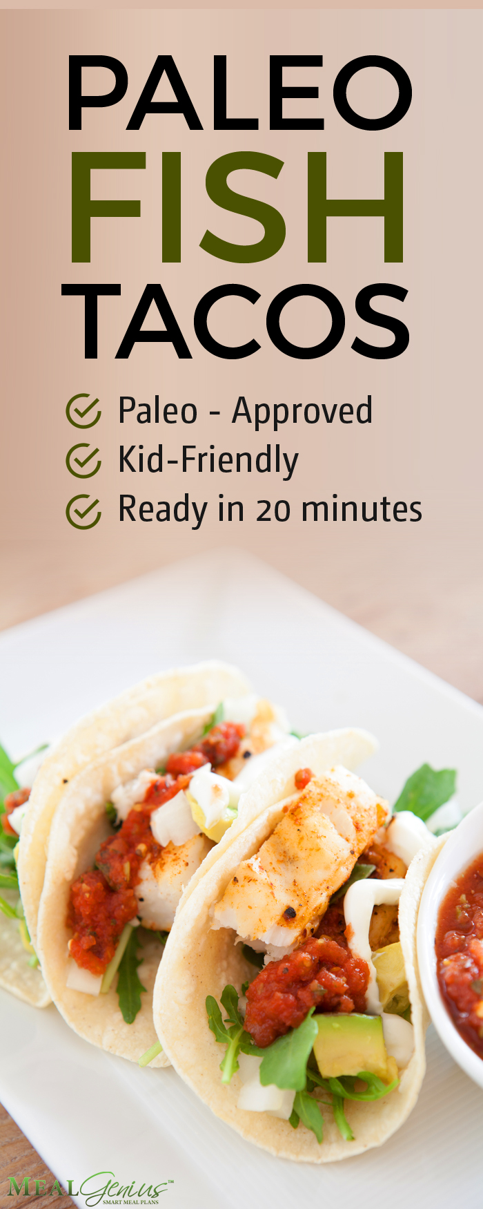 Paleo Fish Tacos - Meal Genius