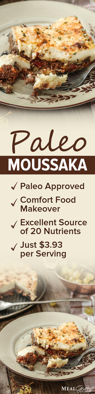Low Carb Paleo Moussaka - Meal Genius
